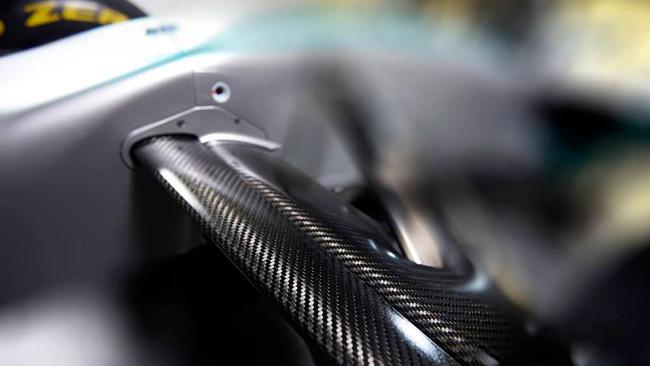 Mercedes W05: c'è un'anteprima della sospensione