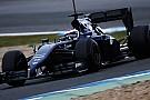 La Williams ha superato i problemi elettrici