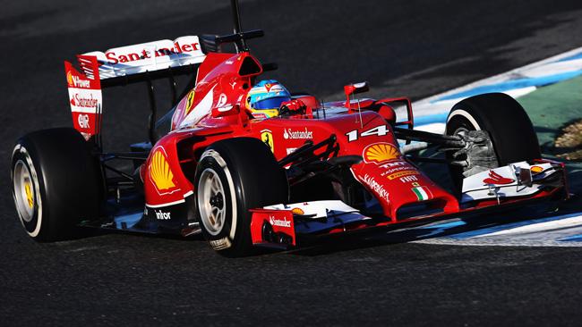 Alonso torna in pista e migliora con la F14 T