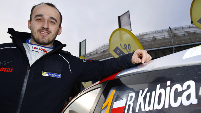 Robert Kubica non corre e...vince l'Ice Master ERC!