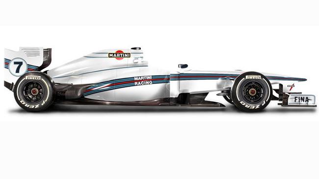 La Williams diventerà Martini nei test di Bahrein 2