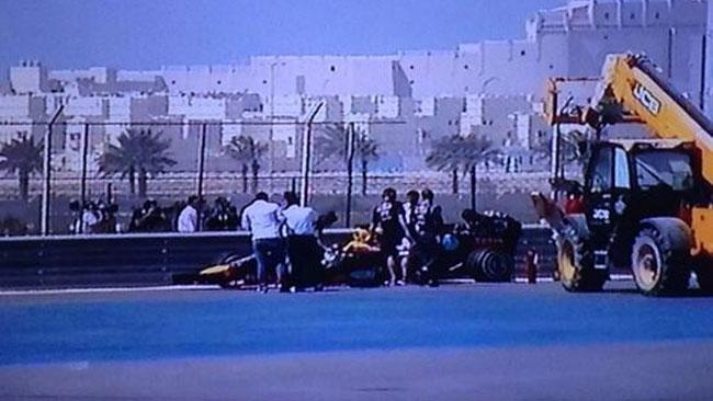 Bahrein, Day 4: Vettel in testacoda, bandiera rossa