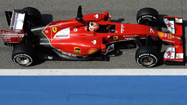 Le Ferrari F14 T già in volo per Melbourne