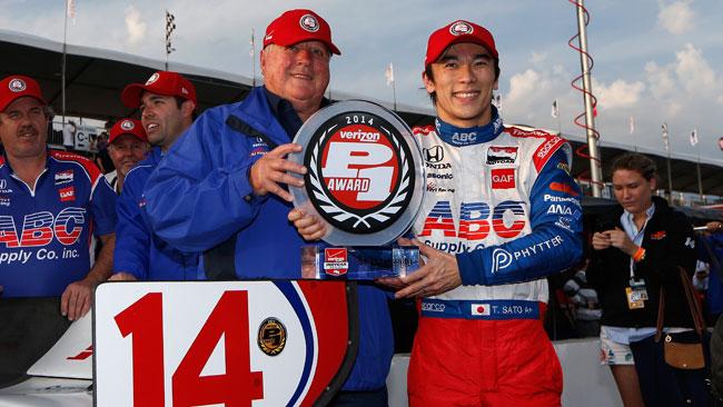 Takuma Sato domina le qualifiche di St. Petersburg