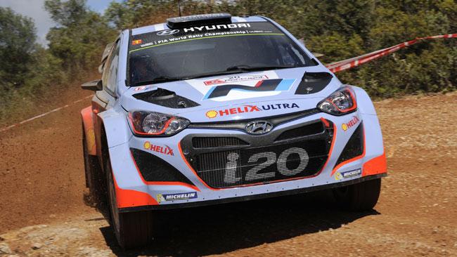 Portogallo, PS2: primo centro della Hyundai con Sordo!