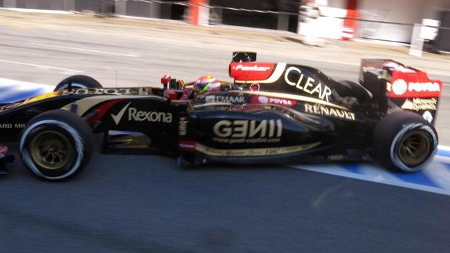 Barcellona, Day 2, Ore 13: Maldonado al top