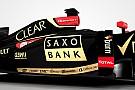 Saxo Bank sponsor principale Lotus a Monaco