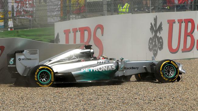 La Mercedes ha sostituito il cambio di Hamilton