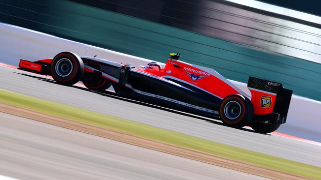 La Marussia cambia il telaio di Max Chilton