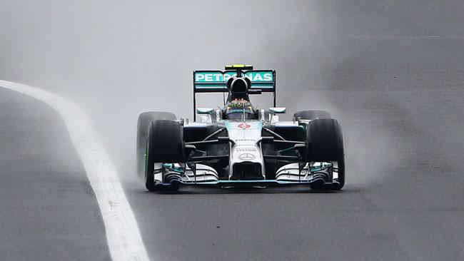 Rosberg arrabbiato per non aver passato Hamilton
