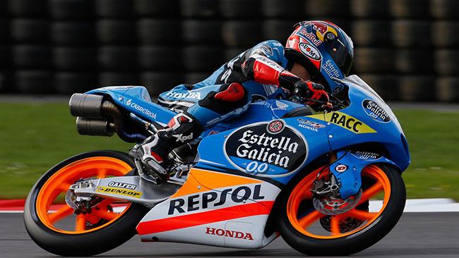 Rins guida la doppietta Honda, terzo Bastianini!