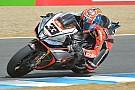 Jerez, Gara 1: Melandri ruba punti a Guintoli