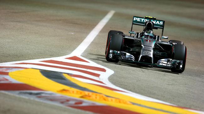 Il cambio dei freni ha ostacolato Nico Rosberg