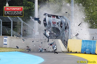 Le Mans 24 Hours: Cause of Loic Duval's crash still unknown