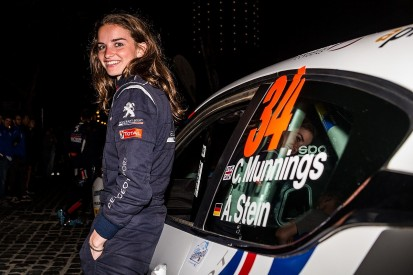 ERC's Munnings first woman in motorsport to get Red Bull UK backing