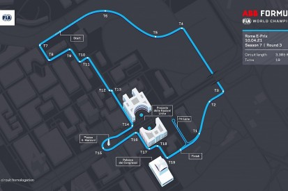 Formula E reveals new Rome E-Prix track layout