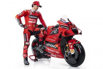 """Francesco Bagnaia: """"Meine Situation bei Ducati nicht mit Rossis vergleichbar"""""""