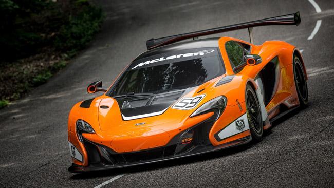 La McLaren 650S GT3 debutta alla 12 Ore del Golfo