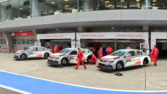 Shanghai, Libere 1-2: Le Citroën dettano legge