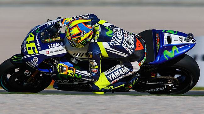 Valencia, Q2: Valentino torna in pole dopo 4 anni!