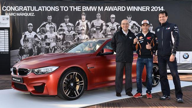 Marquez si porta a casa la BMW in palio per le pole