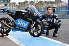 Ecco Migno con i colori dello Sky Racing Team VR46