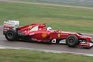 Il primo giorno di Vettel sulla Ferrari F2012
