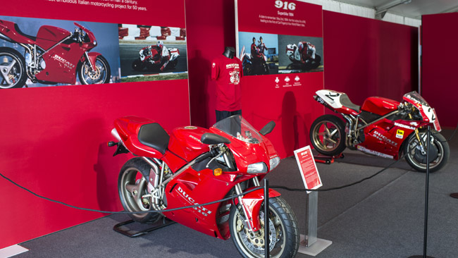 Ducati celebra i suoi successi in SBK al Motor Show
