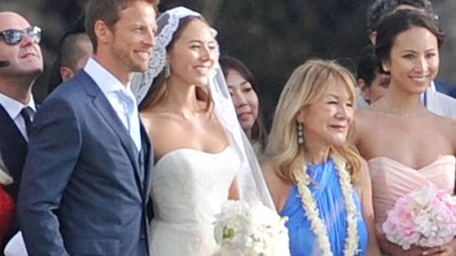 Jenson Button si è sposato alle Hawaii con Jessica
