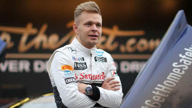 Niente libere del venerdì per Magnussen nel 2015