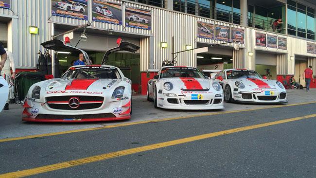 La 24 Ore di Dubai resta stregata per la GDL Racing