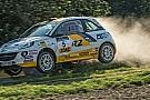 Griebel e Bergkwist con l'ADAC Opel Rallye Junior