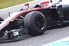 Anche la McLaren con i mozzi forati sulla MP4-30