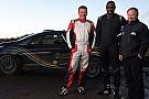 L'attore Idris Elba al Circuit of Ireland Rally