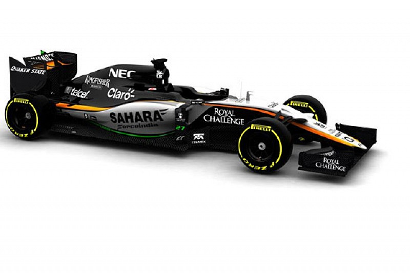 La Force India oggi non gira: aspetta la VJM08