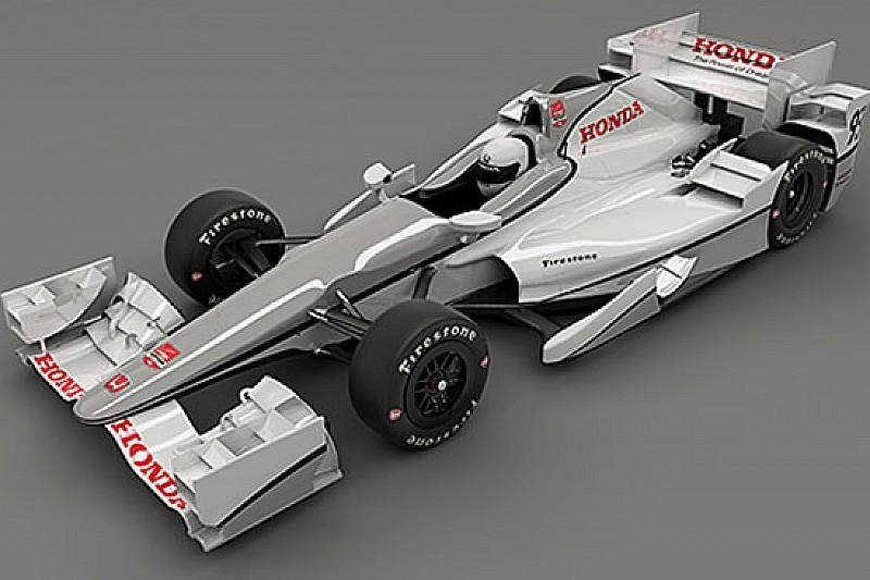 Ecco l'aero kit della Honda per la Indycar 2015