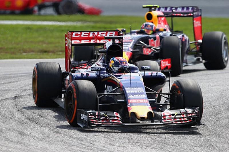 Toro Rosso: battuta la Red Bull, Verstappen da record