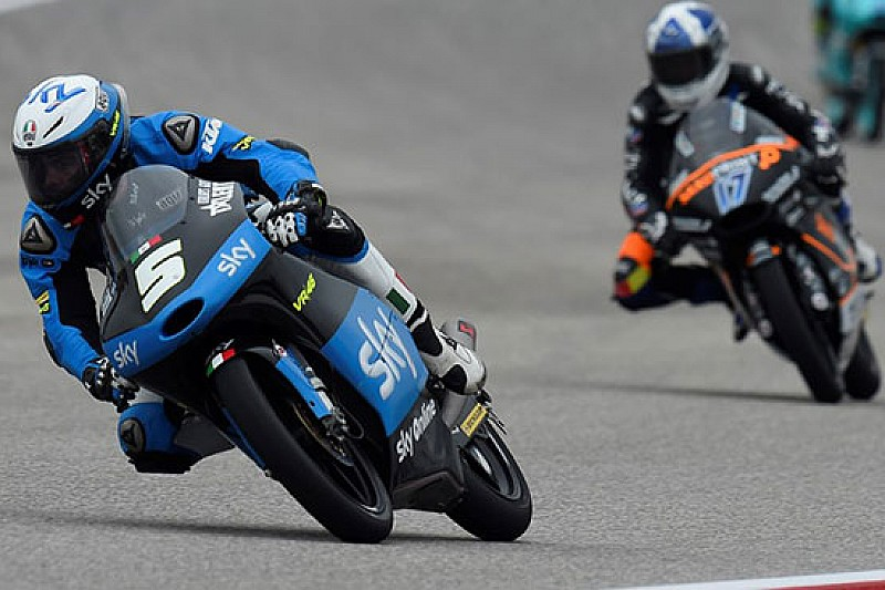 Romano Fenati ritrova la top ten in Texas
