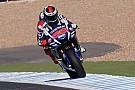 Test Jerez, Ore 14: Lorenzo porta in vetta la Yamaha