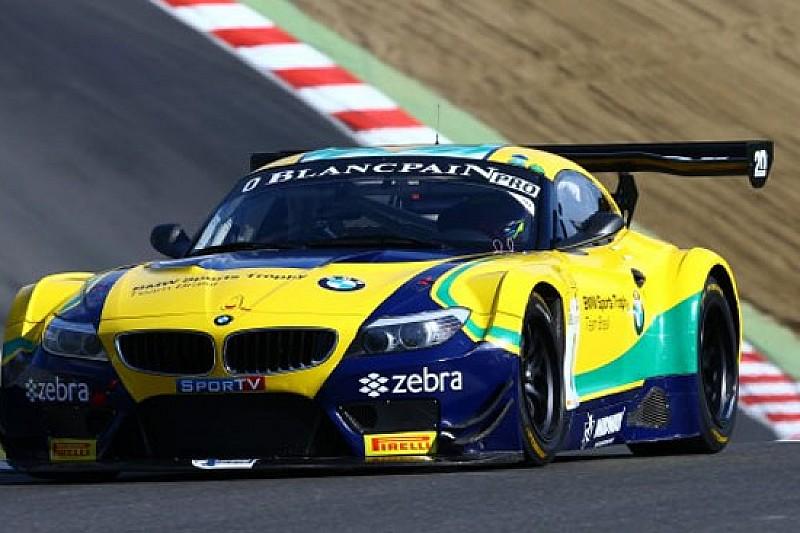 BMW Brasil davanti nelle Libere 1 di Brands Hatch