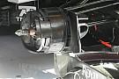 Force India: le pinze dei freni sono montate all'interno