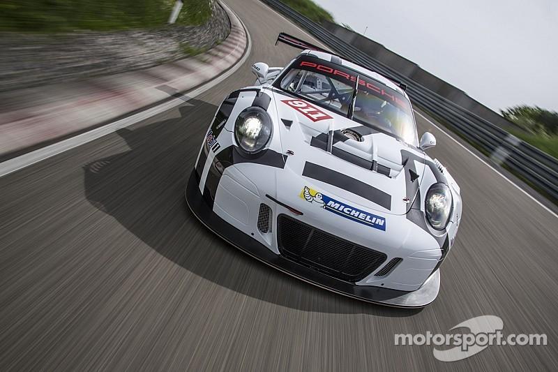 Porsche подготовила новый 911 GT3 R к старту в Дайтоне