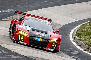 Endurance Qualifying report All four Audi R8 LMS cars on the first five rows of the grid for the Nürburgring 24 Hours
