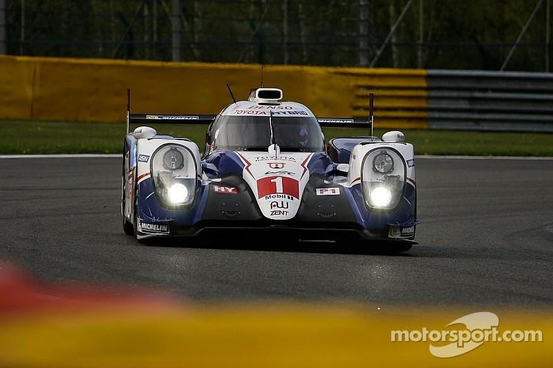 Kobayashi en test pour Toyota à Spa