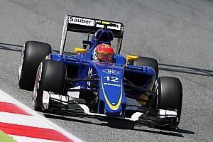 F1 Noticias de última hora Nasr admite que la falta de carga aerodinámica complica a Sauber