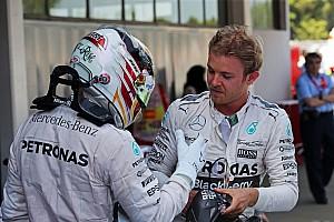 Formule 1 Actualités Rosberg - Ma rivalité avec Hamilton sera toujours complexe