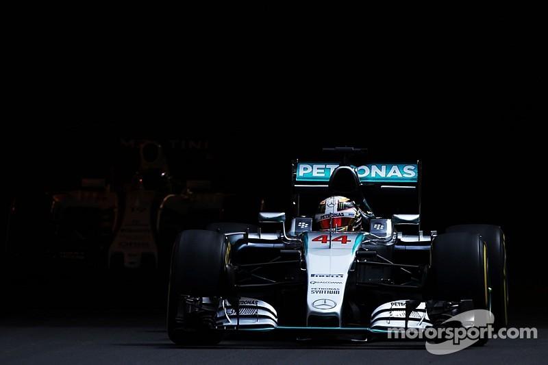 Hamilton fue el mejor antes de la lluvia en Mónaco