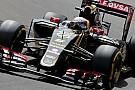 Romain Grosjean est satisfait de sa Lotus ce jeudi