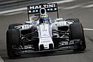 Pires qualifications de l'année pour Williams à Monaco