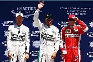 F1 Reporte de calificación Lewis Hamilton suma otra pole